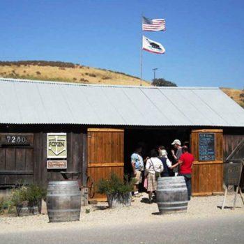 Foxen tasting shack